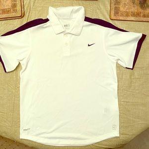 NIKE boys polo shirt with design